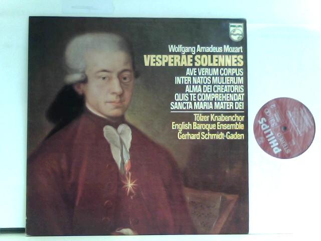 Tölzer Knabenchor, English Baroque Ensemble, Gerhard Schmidt-Gaden – Vesperae Solennes