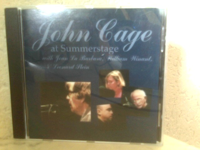 John Cage at Summerstage