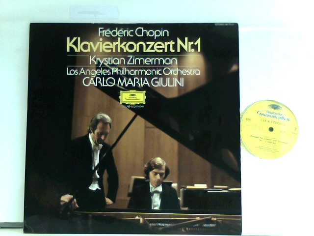 Zimerman, Krystian: Frédéric Chopin, Los Angeles Philharmonic Orchestra – Klavierkonzert - Piano Concerto No. 1