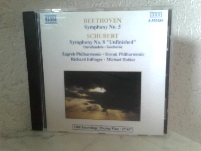 "Beethoven - Symphony No. 5 / Schubert - Symphony No. 8 "" Unfinished """