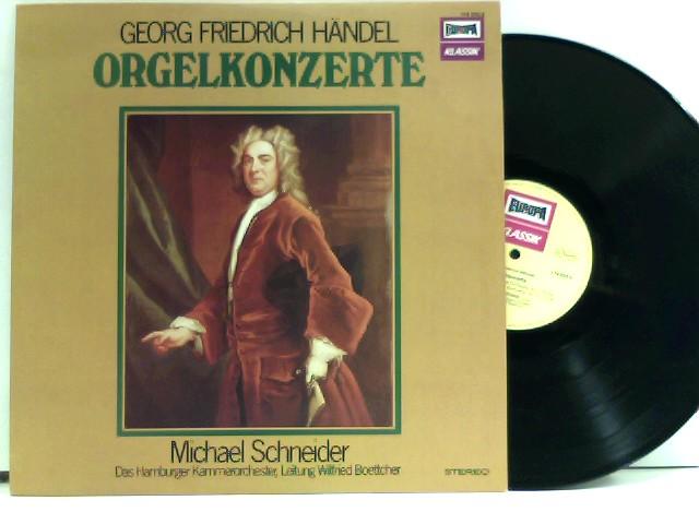 Das Hamburger Kammerorchester*, Wilfried Boettcher, Michael Schneider – Orgelkonzerte