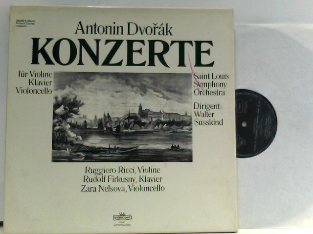 Saint Louis Symphony Orchestra, Walter Susskind, Zara Nelsova, Ruggiero Ricci, Rudolf Firkušný – Konzerte