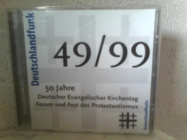 50 Jahre Deutscher Evangelischer Kirchentag - Forum und Fest des Protestantismus - Eine Hörfunkdokumentation mit Originaltönen