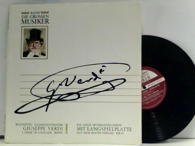 Giuseppe Verdi – Rigoletto · Gesamtaufnahme - Giuseppe Verdi 1. Serie In 4 Folgen · Band I