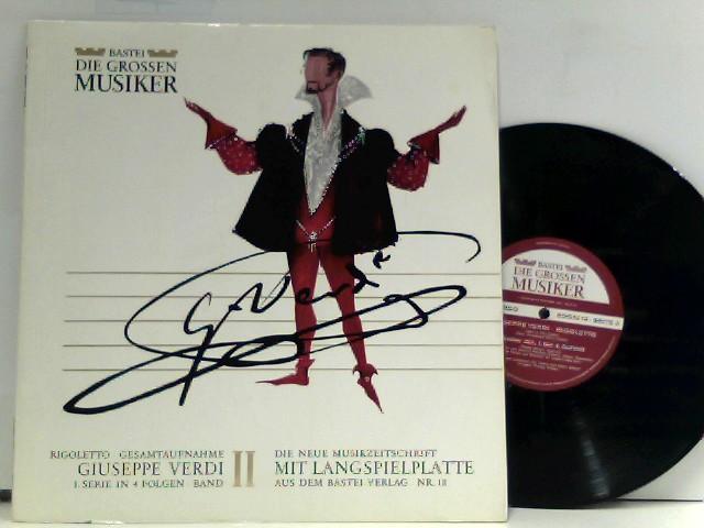 Giuseppe Verdi – Rigoletto · Gesamtaufnahme - Giuseppe Verdi 1. Serie In 4 Folgen · Band II