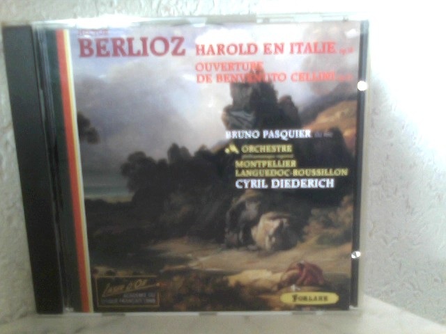 Orchestre philharmonique regional, -, Bruno Pasquier Cyril Diederich u. a.: Hector Berlioz - Harold en Italie op. 16