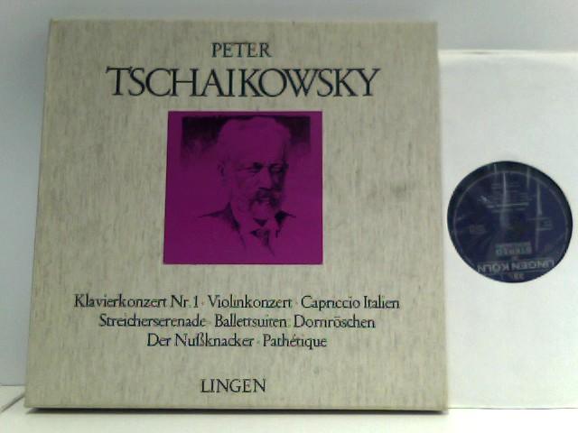 Klavierkonzert Nr. 1 / Violinkonzert / Capriccio Italien / Streicherserenade / Ballettsuiten: Dornröschen / Der Nüssknacker / Pathétique