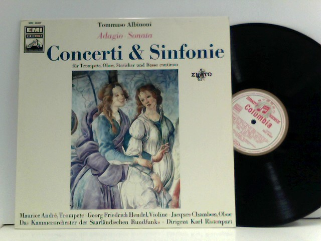 Concerti And Symphonies For Trumpet, Oboe And String Orchestra