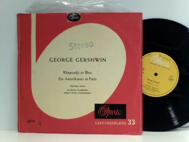 Gershwin, George: Rhapsody In Blue / Ein Amerikaner In Paris