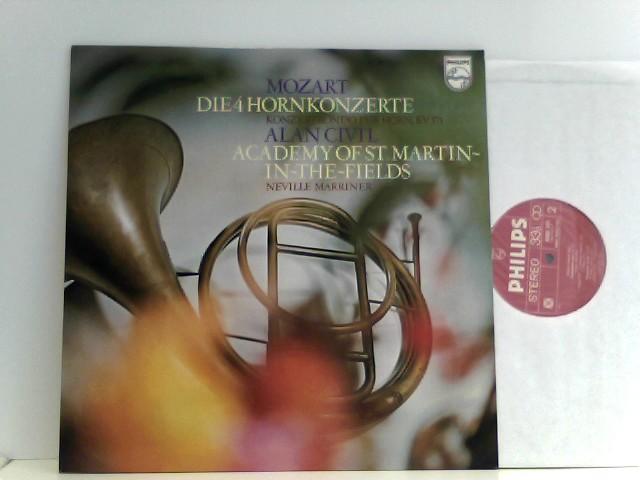Marriner*, Academy Of St. Martin-In-The-Fields*, Alan Civil – Die 4 Hornkonzerte
