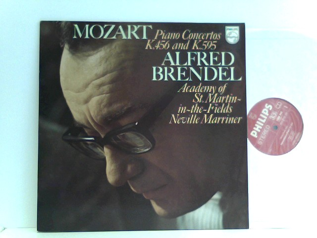 Alfred Brendel, Academy Of St. Martin-in-the-Fields*, Neville Marriner* – Piano Concertos K. 456 And K. 595