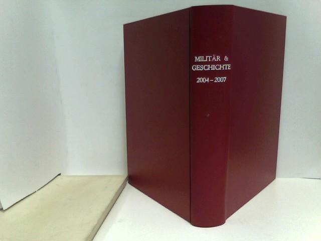Militär & Geschichte Gebunde Ausgabe mit 23 Heften (2004: Nr. 15 - 36, 2006: Nr. 1)