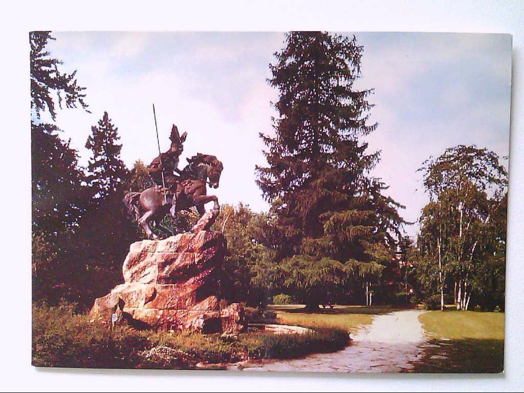 AK. Herford in Westfalen. Denkmal Sachsenherzog Wittekind.