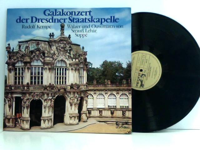 Staatskapelle Dresden – Galakonzert Der Dresdner Staatskapelle (Walzer Und Overtüren Von Strauß, Lehár, Suppé)