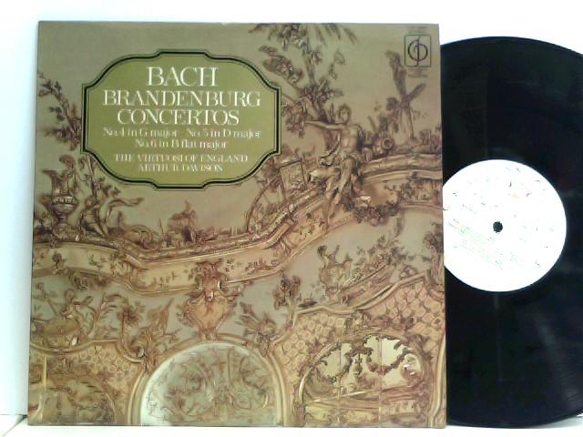The Virtuosi Of England, Arthur Davison – Brandenburg Concertos No. 4 In G Major • No. 5 In D Major • No. 6 In B Flat Major