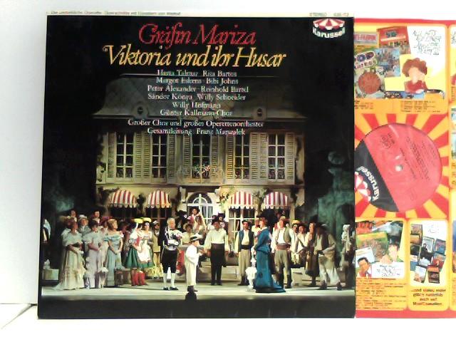 Gräfin Mariza - Viktoria Und Ihr Husar - Die Unsterbliche Operette - Querschnitte Mit Künstlern Von Weltruf