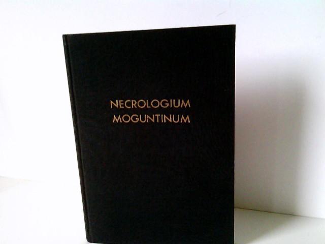 Bischöfliche Kanzlei (Hrsg.): Necrologium Defunctorum Dioecesis Moguntinae Sacerdotum, qui ab anno 1830-1955 obierunt