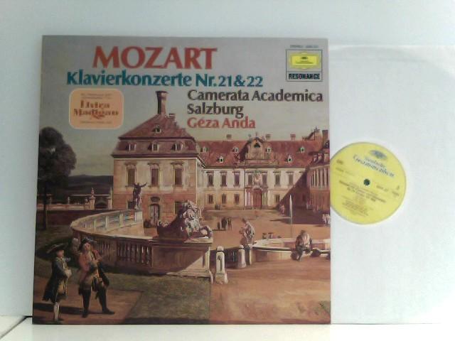 Géza Anda /  Camerata Academica Des Salzburger Mazarteums*  – Klavierkonzerte Nr.21 & 22