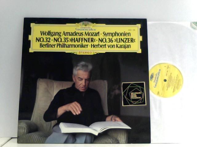 """Berliner Philharmoniker, Herbert von Karajan – Symphonien No. 32, No. 35 """"Haffner"""" / No. 36 """"Linzer"""""""