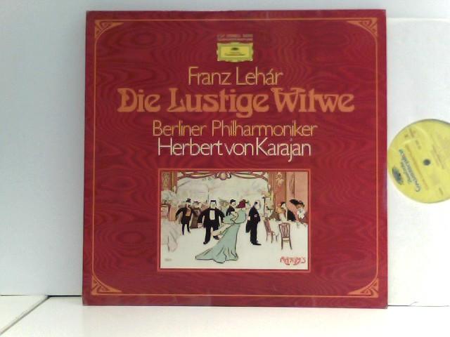 Berliner Philharmoniker, Herbert von Karajan, Chor der Deutschen Oper Berlin – Die Lustige Witwe