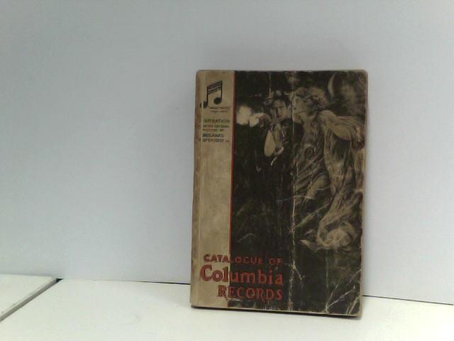 o.A.: Catalogue of Columbia records 1934.