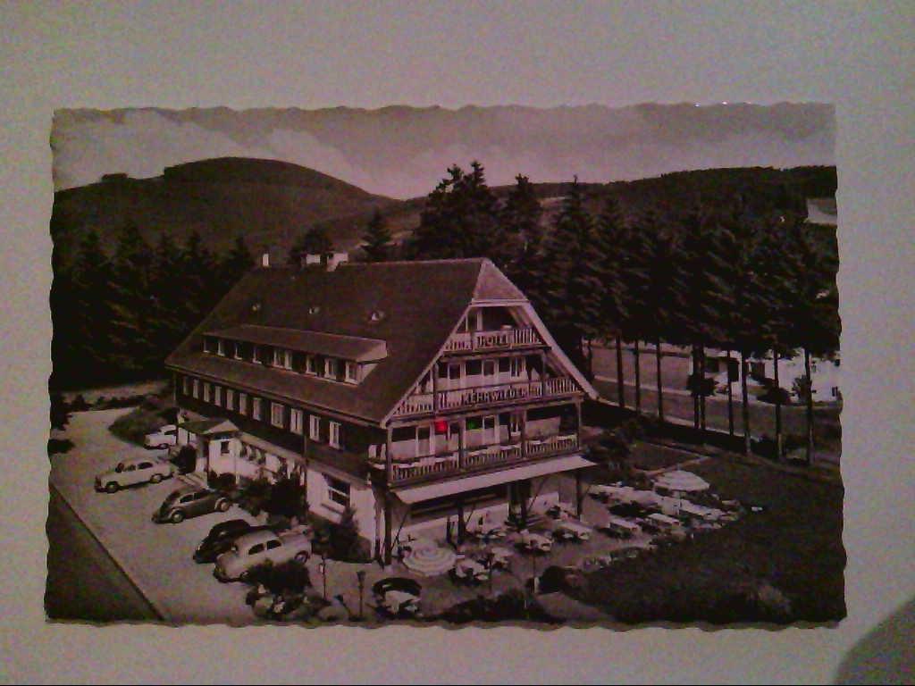 """AK. Hotel """" Kehrwieder """". Titisee, Hochschwarzwald. Echte Photographie. s/w."""