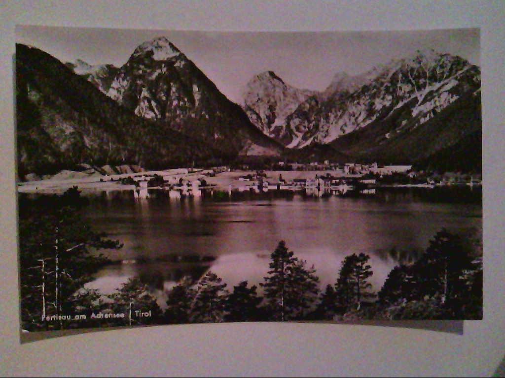 AK. Pertisau am Achensee. Tirol. Österreich. s/w.