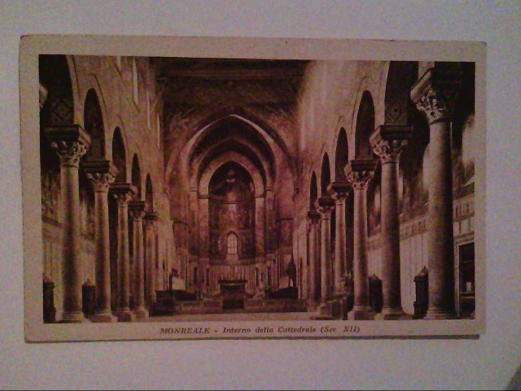 AK. Monreale. Italien. Cattedrale.