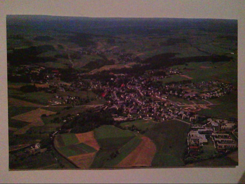 AK. Bad Steben im Frankenwald. Luftaufnahme.