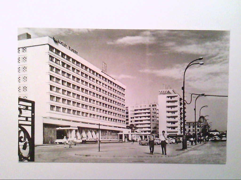 "AK. Hotel "" Nord "". Bukarest. Rumänien. s/w."