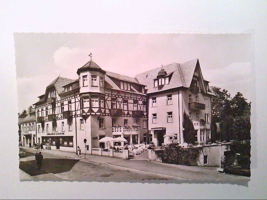 AK. Schwarzwald - Hotel. Badenweiler / Schwarzwald. Echtes Photo. s/w.