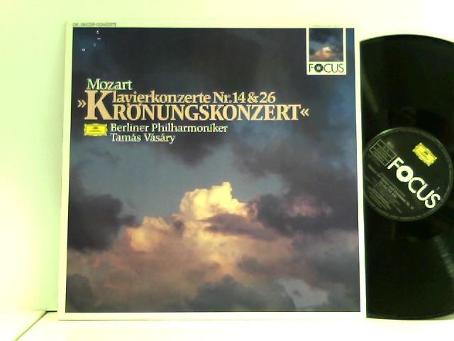 Berliner Philharmoniker •  Tamás Vásáry  – Klavierkonzerte Nr. 14 & 26 »Krönungskonzert«