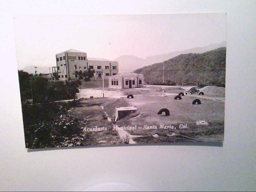 AK. Santa Marta. Kolumbien. Acueducto Municipal. s/w.