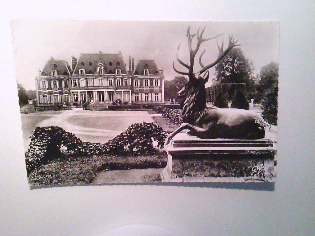 AK. Orne. Alencon. Frankreich. Chateau Lonray. Echt Photo. s/w.