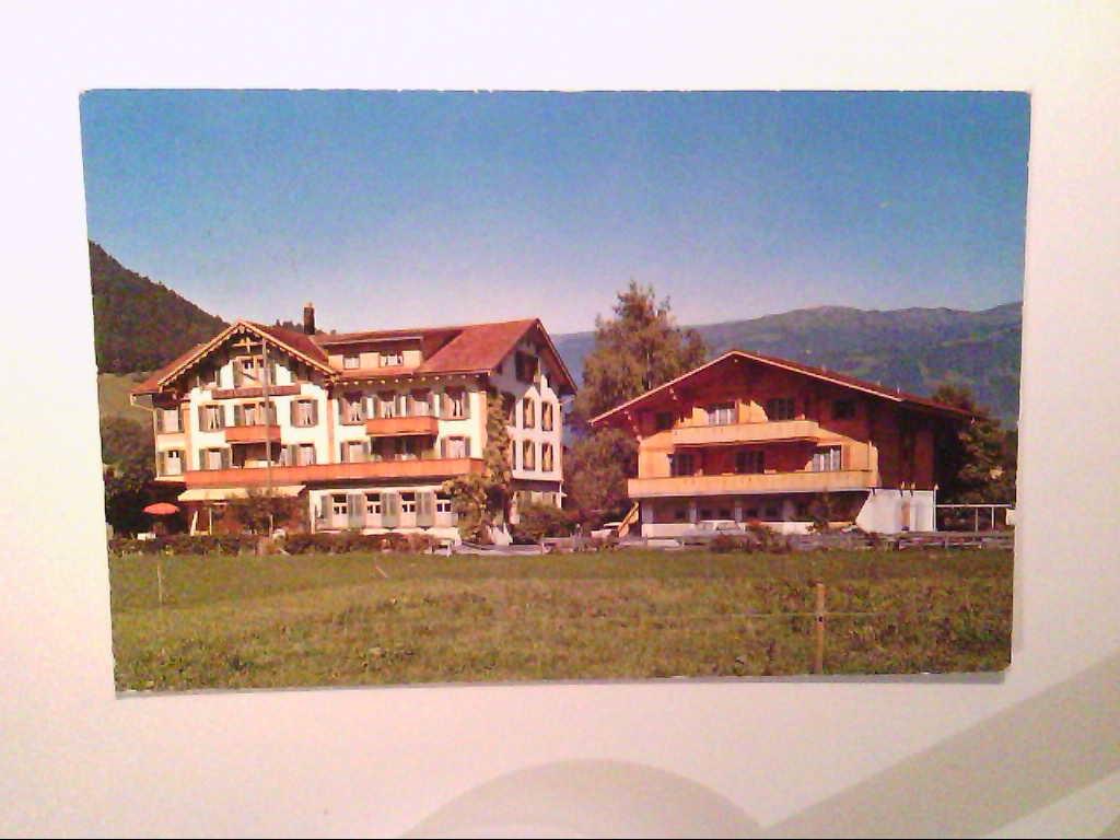 "AK. Hotel "" Jungfrau "". Wilderswil. Schweiz."