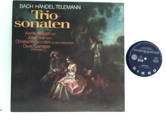 Carl Philipp Emanuel Bach - Triosonaten