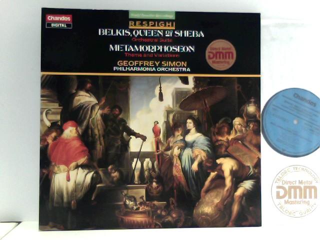 Geoffrey Simon,  Philharmonia Orchestra  – Belkis Queen Of Sheba & Metamorphoseon
