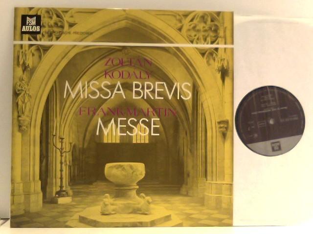 Frank Martin – Missa Brevis / Messe Für Vierstimmige Chöre