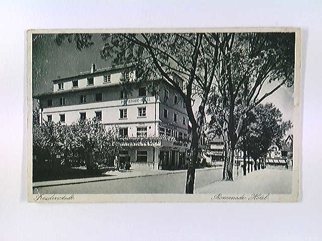 Freudenstadt, Promenade-Hotel, AK, gelaufen 1933
