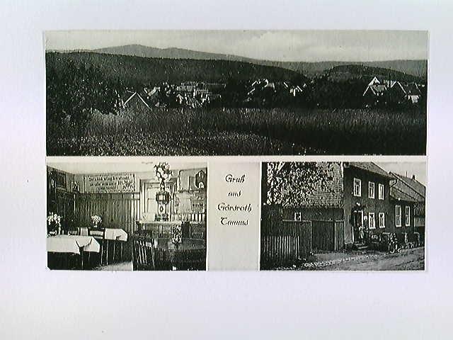 Görsroth im Taunus, Gasthaus Zur guten Quelle, Hünstetten, Mehrbild-AK, ungelaufen, ca. 1950