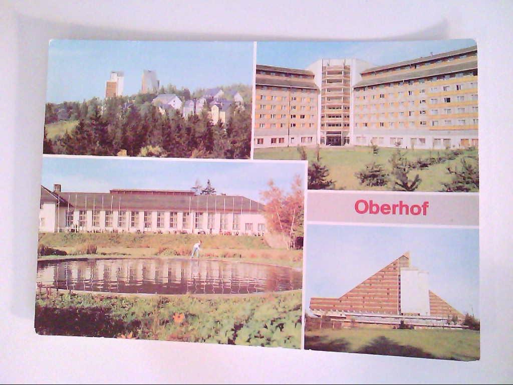 Oberhof. Kreis Suhl. Mehrbildkarte mit 4 Abb. , Ansichtskarte