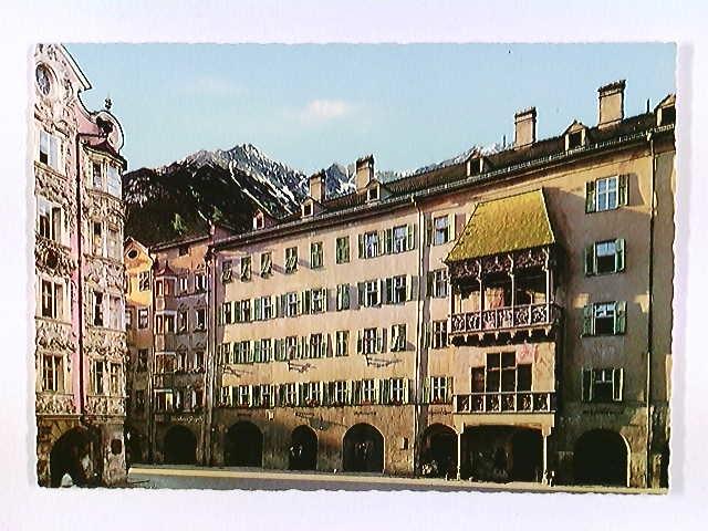 Innsbruck Tirol, Weinhaus Jörgele, Goldenes Dachl, AK, ungelaufen, ca. 1970