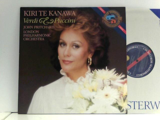 Kanawa, Kiri Te: John Pritchard,  London Philharmonic Orchestra* – Verdi & Puccini