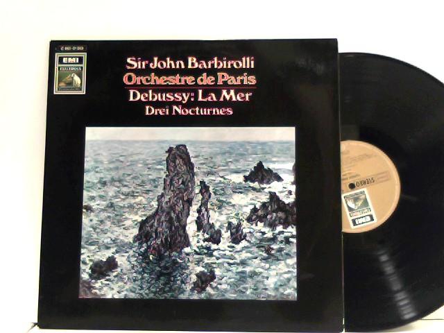 Sir John Barbirolli,  Orchestre De Paris  – La Mer / Nocturnes