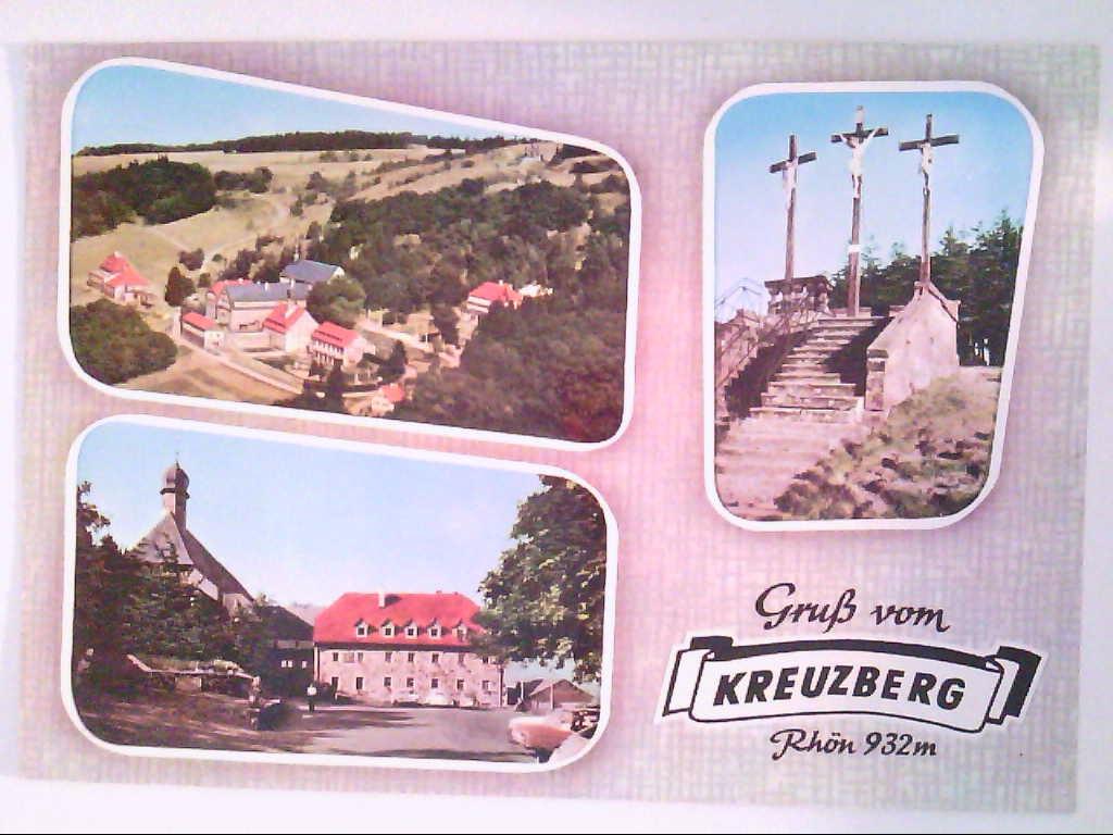 Kreuzberg. Rhön. Mehrbildkarte mit 3 Abb. , Ansichtskarte