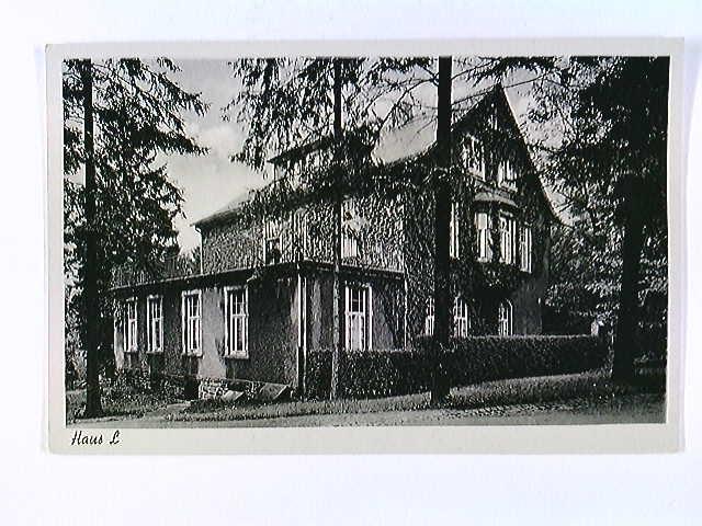 Remscheid-Lüttringhausen, Stiftung Tannenhof, Haus L, AK, ungelaufen, ca. 1955