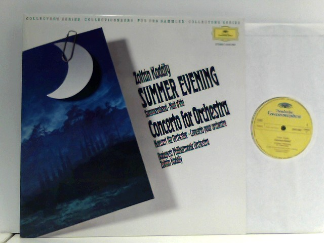 Kodály, Zoltán: Budapest Philharmonic Orchestra*  – Summer Evening / Concerto For Orchestra