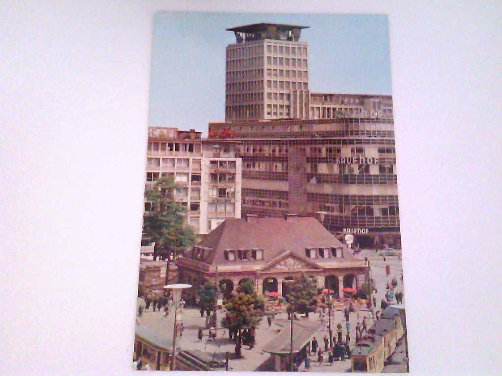 Frankfurt am Main. An der Hauptwache. Kaufhof. , Ansichtskarte