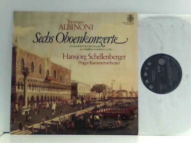 Hansjörg Schellenberger -  Prager Kammerorchester*  – Sechs Oboenkonzerte