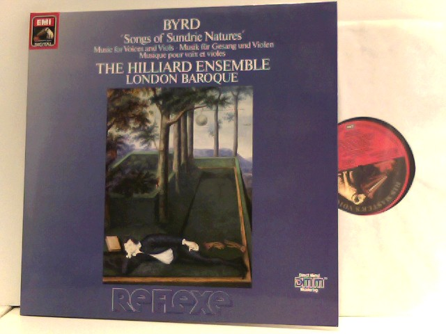 Byrd, William: The Hilliard Ensemble,  London Baroque  – Songs Of Sundrie Natures (Music For Voices And Viols)